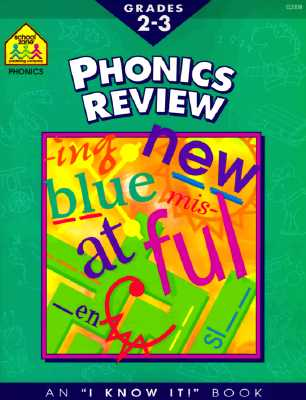 Image for *NEW* Phonics Review (I Know It! Books) Grades 2-3