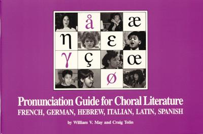 Image for Pronunciation Guide for Choral Literature
