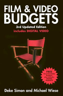 Image for Film & Video Budgets: Includes Digital Video