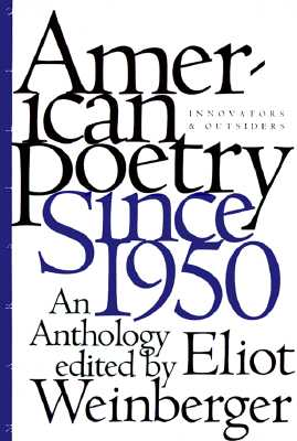Image for American Poetry Since 1950: Innovators and Outsiders, an Anthology