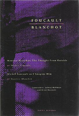 Image for THOUGHT FROM OUTSIDE, THE & MICHEL FOULCAULT AS I IMAGINE HIM TRANSLATORS: JEFFREY MEHLLMAN & BRIAM MASSUMI