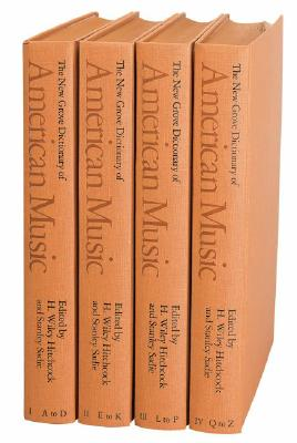 Image for The New Grove Dictionary of American Music: 4 volumes