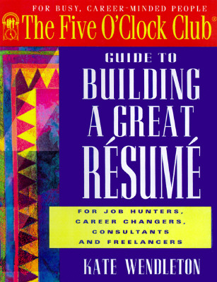 Image for BUILDING A GREAT RESUME