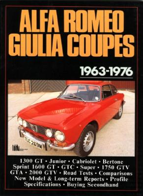 Image for Alfa Romeo Giulia Coupes 1963-76