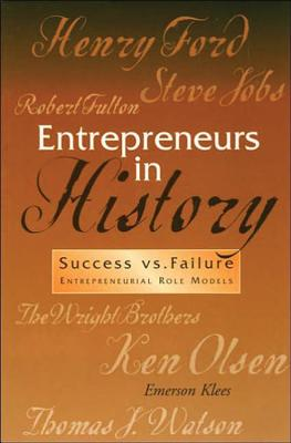 Image for Entrepreneurs in History--Success vs. Failure (Role Models of Human Values Ser. Vol. 2)