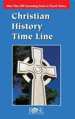 Image for Christian History Time Line (2,000 Years of Christian History at a Glance!)