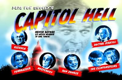 Image for Capitol Hell Political Monsters Postcard Book