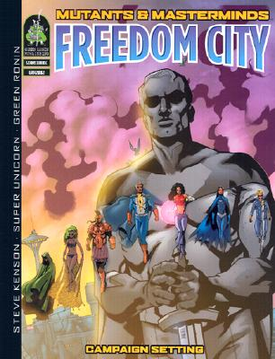 Image for Mutants and Masterminds - Freedom City - Campaign Setting (#GRR2002)