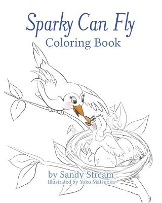 Image for Sparky Can Fly - Coloring Book (River Series)