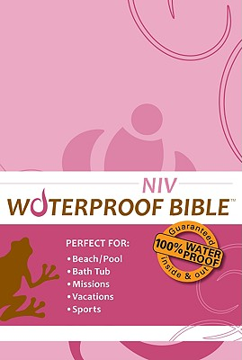 NIV(1984) Waterproof Bible: Pink Floral, Bardin & Marsee Publishing (Author)