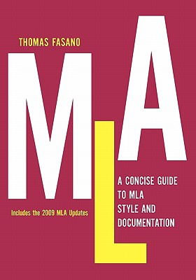 Image for A Concise Guide to MLA Style and Documentation