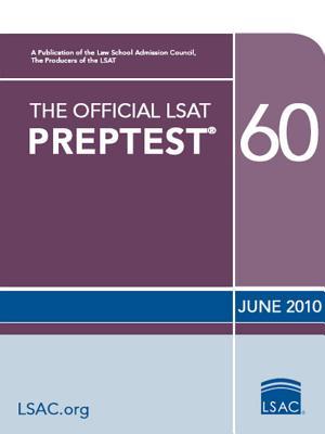 Image for The Official LSAT PrepTest 60: (June 2010 LSAT)