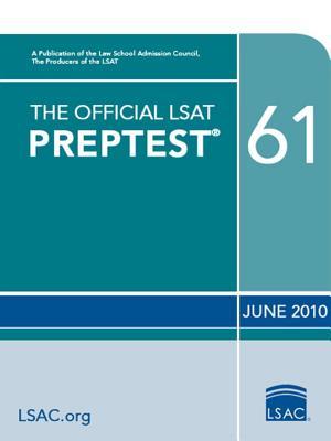Image for The Official LSAT PrepTest 61: (Oct. 2010 LSAT)