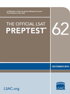 Image for The Official LSAT PrepTest 62: (Dec. 2010 LSAT)