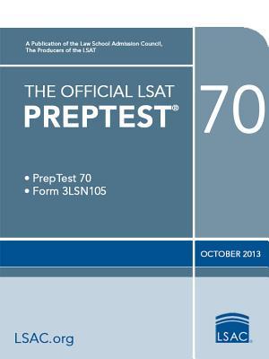 Image for The Official LSAT Preptest 70: PrepTest 70, Form 3LSN105, October 2013