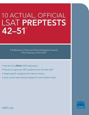 Image for 10 Actual 42-51, Official LSAT Preptests: (PrepTests 42?51)