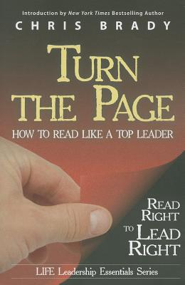 Turn the Page: Read Right to Lead Right, Brady, Chris