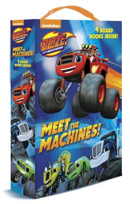 Image for Meet the Machines! (Blaze and the Monster Machines): 4 Board Books