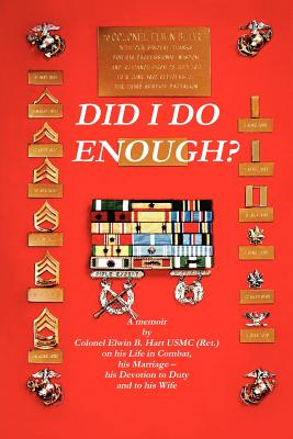 Did I Do Enough? Nancy Said Yes, Hart, Elwin B.