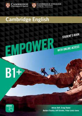 Image for Cambridge English Empower Intermediate Student's Book with Online Assessment and Practice and Online Workbook