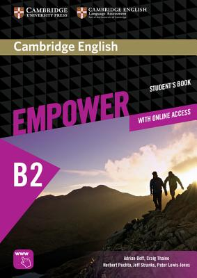 Image for Cambridge English Empower Upper Intermediate Student's Book with Online Assessment and Practice, and Online Workbook