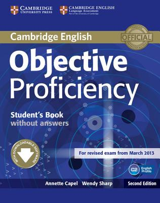 Image for Objective Proficiency Student's Book without Answers with Downloadable Software 2nd Edition