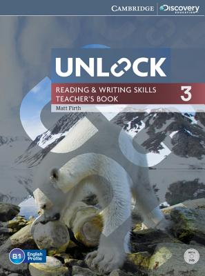 Image for Unlock Level 3 Reading and Writing Skills Teacher's Book with DVD