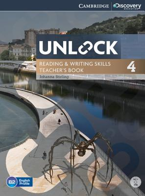 Image for Unlock Level 4 Reading and Writing Skills Teacher's Book with DVD