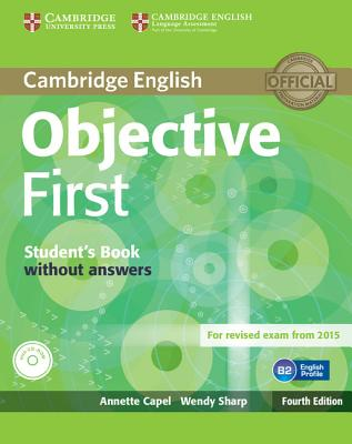 Image for Objective First Student's Book Without Answers with CD-ROM