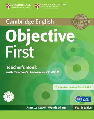 Image for Objective First Teacher's Book with Teacher's Resources CD-ROM