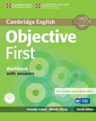 Image for Objective First Workbook with Answers with Audio CD