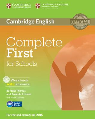 Image for Complete First for Schools Workbook with Answers with Audio CD