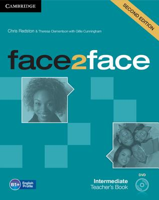 Image for Face2face Intermediate Teacher's Book with DVD