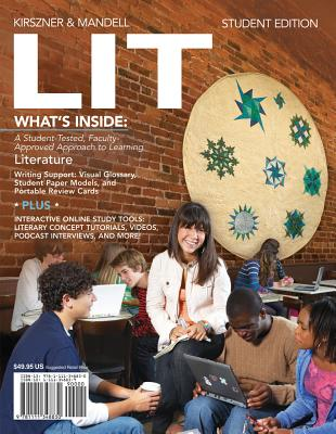 LIT (with CourseMate Printed Access Card), Laurie G. Kirszner  (Author), Stephen R. Mandell (Author)