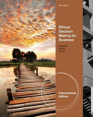 Image for Ethical Decision Making for Business 9th Edition