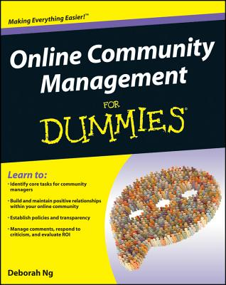 Image for Online Community Management For Dummies