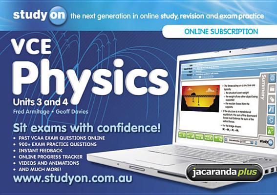 Image for StudyOn VCE Physics Unit 3 & 4 & Booklet