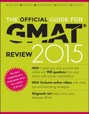 Image for The Official Guide for GMAT Review 2015 with Online Question Bank and Exclusive Video