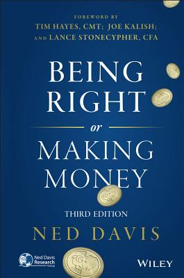 Image for Being Right or Making Money