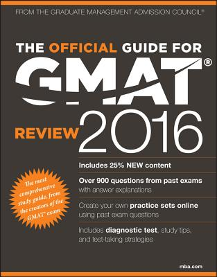 Image for The Official Guide for GMAT Review 2016 with Online Question Bank and Exclusive Video