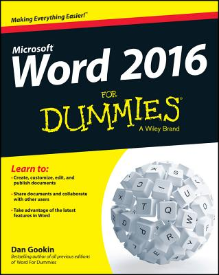 Image for Word 2016 For Dummies