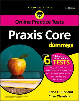 Image for Praxis Core For Dummies with Online Practice Tests (For Dummies (Career/Education))