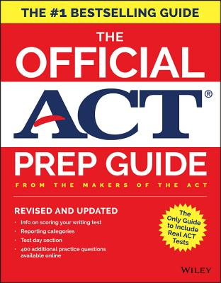 Image for The Official ACT Prep Guide, 2018: Official Practice Tests + 400 Bonus Questions Online