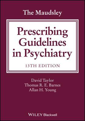 Image for The Maudsley Prescribing Guidelines in Psychiatry