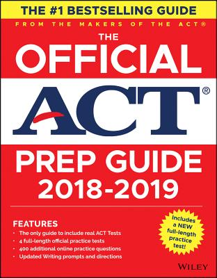 Image for The Official ACT Prep Guide, 2018-19 Edition (Book + Bonus Online Content)