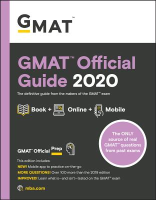 Image for GMAT Official Guide 2020: Book + Online Question Bank