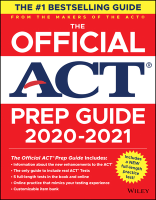 Image for The Official ACT Prep Guide 2020 - 2021, (Book + 5 Practice Tests + Bonus Online Content)
