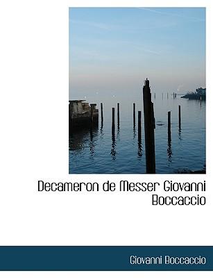 Decameron de Messer Giovanni Boccaccio (Italian Edition), Boccaccio, Giovanni