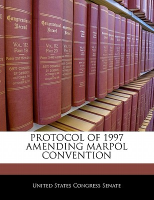 Protocol Of 1997 Amending Marpol Convention