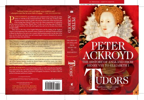 Tudors: The History of England from Henry VIII to Elizabeth I, Peter Ackroyd